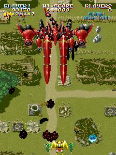 Sorcer Striker (ARC)  © Raizing 1993   9/12