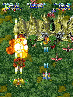 Sorcer Striker (ARC)  © Raizing 1993   10/12