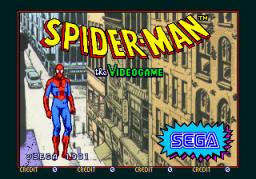 Spider-Man: The Videogame (ARC)  © Sega 1991   1/4