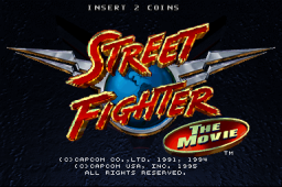 Street Fighter: The Movie (Incredible Technologies) (ARC)  © Capcom 1995   1/8