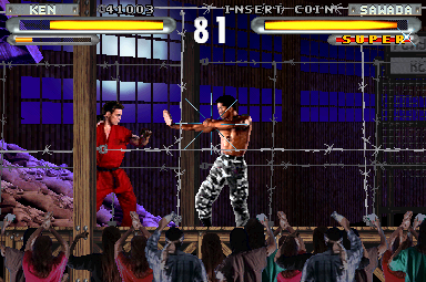 Street Fighter: The Movie (Incredible Technologies) (ARC)  © Capcom 1995   7/8