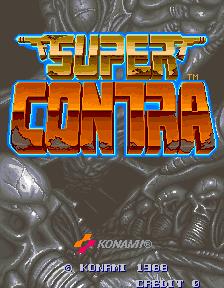 Super Contra (ARC)  © Konami 1989   1/7