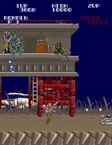 Super Contra (ARC)  © Konami 1989   2/7