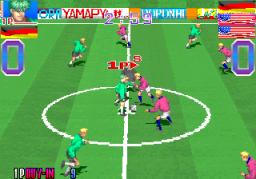 Super Cup Finals (ARC)  © Taito 1994   2/3
