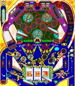 Super Pinball Action (ARC)  © Tecmo 1991   3/3