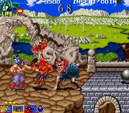 Tecmo Knight (ARC)  © Tecmo 1989   2/4