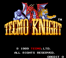 Tecmo Knight (ARC)  © Tecmo 1989   1/4