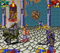Tecmo Knight (ARC)  © Tecmo 1989   4/4