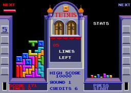 Tetris (ARC)  © Atari Games 1988   2/2