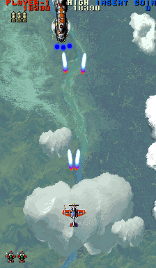 Thunder Dragon II (ARC)  © NMK 1993   2/5