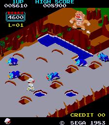 Congo Bongo (ARC)  © Sega 1983   3/3