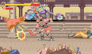 Violent Storm (ARC)  © Konami 1993   4/6