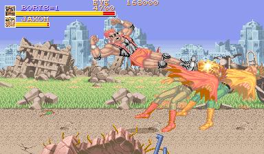 Violent Storm (ARC)  © Konami 1993   5/6