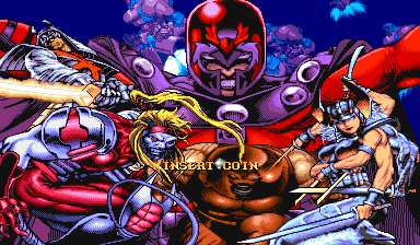 X-Men: Children Of The Atom (ARC)  © Capcom 1994   4/9
