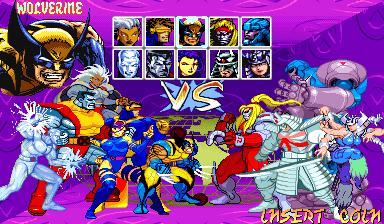 X-Men: Children Of The Atom (ARC)  © Capcom 1994   7/9