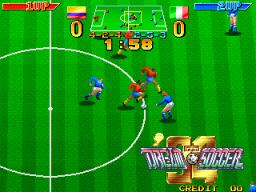 Dream Soccer '94 (ARC)  © Irem 1994   2/3