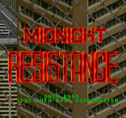 Midnight Resistance (ARC)  © Data East 1989   1/7