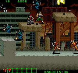 Midnight Resistance (ARC)  © Data East 1989   7/7
