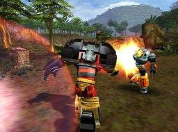 Transformers (2004) (PS2)  © Atari 2004   2/6