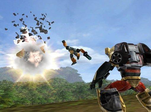 Transformers (2004) (PS2)  © Atari 2004   6/6