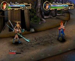 Golden Axe (PS2)  © Sega 2003   2/3