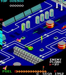 Zaxxon (ARC)  © Sega 1982   2/3