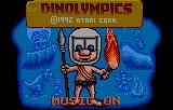 Dinolympics (LNX)  © Atari Corp. 1992   1/3