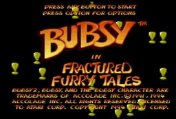 Bubsy In Fractured Furry Tales (JAG)  © Atari Corp. 1994   1/3