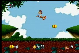 Bubsy In Fractured Furry Tales (JAG)  © Atari Corp. 1994   2/3