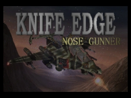 Knife Edge (N64)   © Kemco 1998    1/2