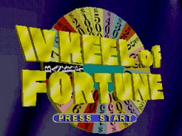 Wheel Of Fortune (N64)  © GameTek 1997   1/3