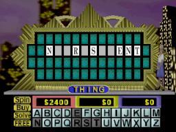 Wheel Of Fortune (N64)  © GameTek 1997   3/3