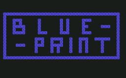 Blue Print (C64)  © Commodore 1983   1/3