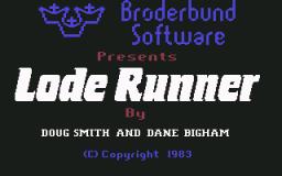 Lode Runner (C64)  © Brøderbund 1983   1/3