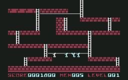 Lode Runner (C64)  © Brøderbund 1983   2/3
