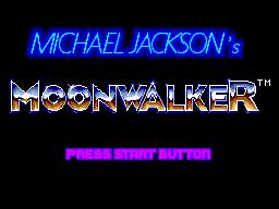Moonwalker (Sega) (SMS)  © Sega 1989   1/3