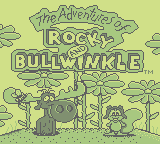The Adventures Of Rocky & Bullwinkle And Friends (GB)  © THQ 1992   1/3