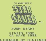 The Adventures Of Star Saver (GB)  © Taito 1991   1/3