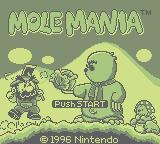 Mole Mania (GB)  © Nintendo 1996   1/3