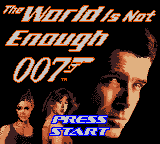 007: The World Is Not Enough (GBC)   © EA 2001    1/3