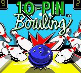10 Pin Bowling (GBC)  © Majesco 1999   1/3