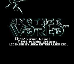 Another World (SMD)   © Virgin 1993    1/4