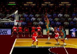 NBA Hang Time (SMD)  © Midway 1996   2/3