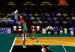 NBA Hang Time (SMD)  © Midway 1996   3/3