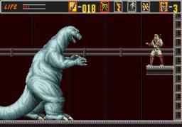 The Revenge Of Shinobi (SMD)  © Sega 1989   3/5