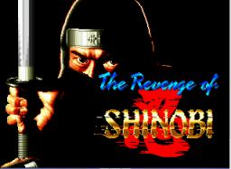 The Revenge Of Shinobi (SMD)  © Sega 1989   1/5