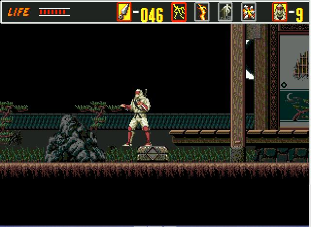 The Revenge Of Shinobi (SMD)  © Sega 1989   5/5