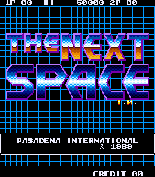 The Next Space (ARC)  © SNK 1989   1/3