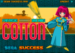 Cotton (ARC)   © Sega 1991    1/5