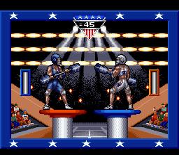 American Gladiators (SNES)  © GameTek 1993   4/4